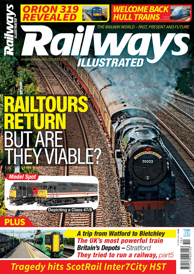 Railways Illustrated - October 2020