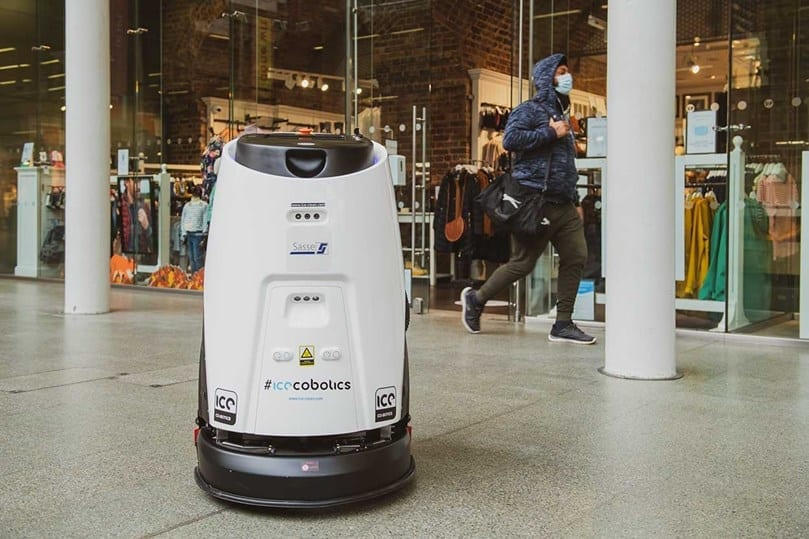 St Pancras International launches new cleaning robots to tackle virus