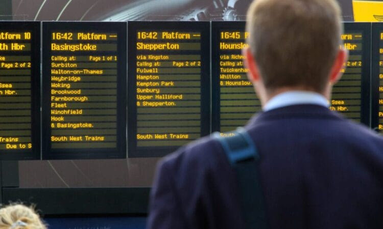 Fees for rearranging advance rail journeys disrupted by Covid-19 to be scrapped