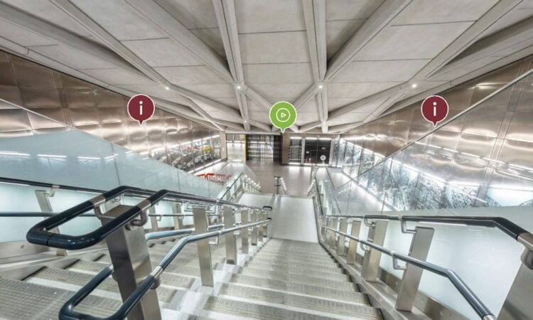 WATCH: 360-degree virtual tour of Farringdon Elizabeth line station