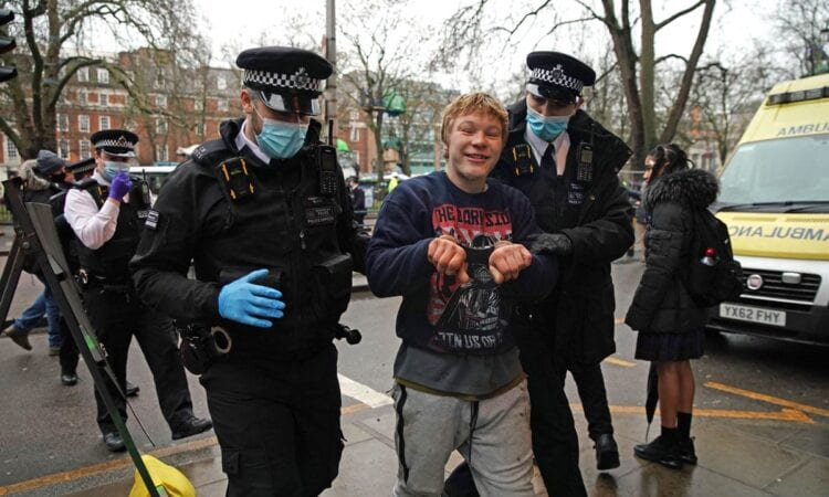Bailiffs from HS2 have started to evict protesters from Euston Square Gardens after they dug tunnels and set up a makeshift camp in opposition to the high speed rail project.